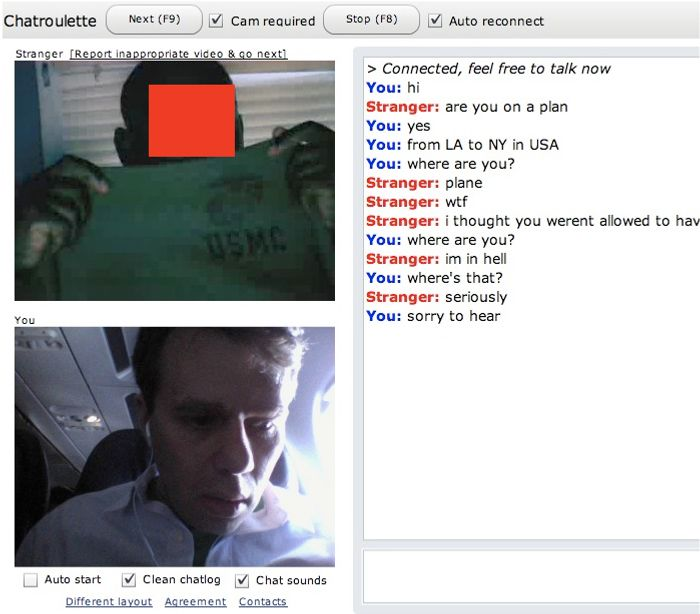 Scott Heiferman's chat roulette